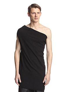 Rick Owens Men's Tube Knit Shirt (Black)