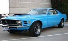 1970 Boss 429 in Grabber Blue