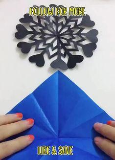 Diy Crafts For Home Decor, Diy Crafts Hacks, Diy Crafts For Gifts, Diy Projects, Cool Paper Crafts, Paper Crafts Origami, Fun Crafts, Christmas Paper Crafts, Holiday Crafts