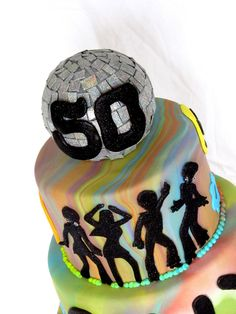 Happy Cakes Bakes: Disco Ball Cake Topper
