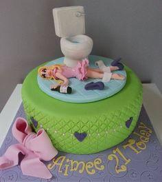 drunk cake bachelorette party