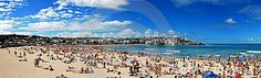 Bondi Beach Panorama - Download From Over 27 Million High Quality Stock Photos, Images, Vectors. Sign up for FREE today. Image: 18999417