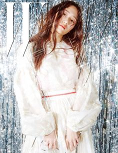 f(x)'s pretty Krystal for W Korea's January issue ~ Wonderful Generation ~ All About SNSD, Wonder Girls, and f(x)