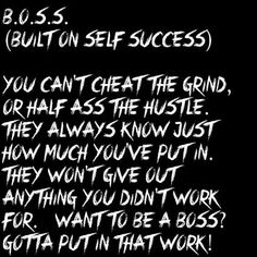 Check out my new PixTeller design! (built on self success) you can't cheat the gri. Boss Babe Motivation, Self Motivation, Motivational Quotes, Inspirational Quotes, To Strive, Tell The Truth, Real Talk, Cheating, Life Quotes