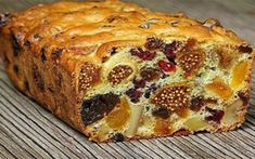 Add the goodness of dry fruits to your cake. Prepare delicious dry fruit cake at home with this easy recipe. There is nothing like enjoying a slice of fresh, moist fruit cake Sweet Recipes, Cake Recipes, Dessert Recipes, Fruit Recipes, Fish Recipes, Cake Cookies, Cupcake Cakes, Tea Cakes, Kolaci I Torte