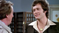 David Letterman on 'Mork and Mindy'