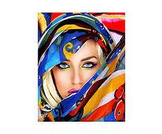 Impresión sobre lienzo Girl - 55x70 cm