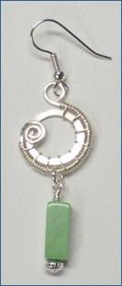 Wire Jewelry Free Patterns | repeat steps 6 through 14 for the other earring you