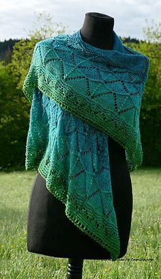 Sweet shawl summer shawl