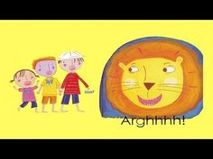 "Read along kids story fun time childrens book ""We're Going on a Lion Hunt"" join kids reading and kids singing a perfect bedtime story to read singalong and s."