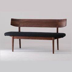 Forms Bench With Back U2013 OOKKUU