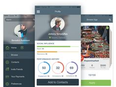 Event Tracking App by Daria for Tubik Studio