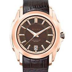 Bulova Precisionist Longwood Series 97b110 Men's Fashion Watch