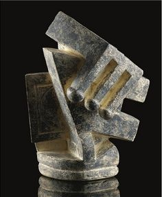 Composition dite cubiste II By Alberto Giacometti Medium: Painted plaster Creation Date: 1926