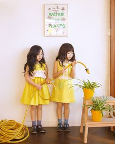 Love the sock/shoe combo with pretty dresses! Twin Girls, Kids Girls, Baby Kids, Asian Kids, Asian Babies, Young Fashion, Kids Fashion, Dope Outfits, Girl Outfits