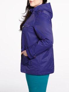 Hooded jacket - Plus Sizes | Plus Sizes| Shop Online at Reitmans