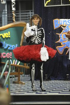 Brennan appearing on a children's television show  SHOW: Bones SEASON: 5 or 6? EPISODE: Unknown