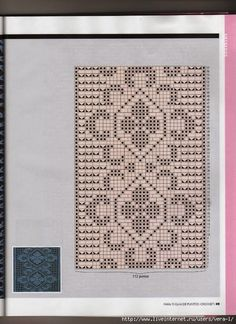 molti bordi a filet | Hobby lavori femminili - ricamo - uncinetto - maglia Filet Crochet, Crochet Diagram, Thread Crochet, Crochet Stitches, Crochet Patterns, Crochet Edgings, Picasa Web Albums, Charts And Graphs, Tapestry Crochet