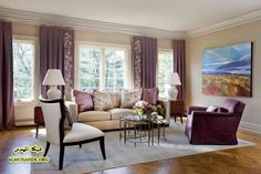 Related Image Beige Living Rooms Room Decor Purple Brown And Cream
