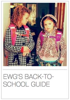 EWG's HEALTHY HOME TIPS -- Tip 11: EWG's Back-To-School Guide. Buying school supplies is an annual end-of-summer tradition. With a little time and attention, a backpack full of #non-toxic school supplies is in reach. Get EWG's Back-To-School Guide and shopping tips!