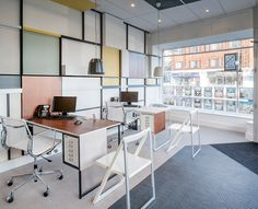 Office Design for Galloway's Estate Agents by IYA Studio