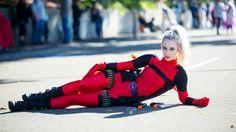 Cosplayer: Blondiee Character: Deadpool Series: Deadpool Photographer: Lorenzo So Photography Location: Australia