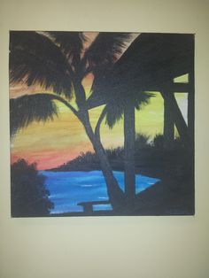 Sunset Canapy by Hayley Kim Jones Exaggeration of the real hayleyshobbies @ gmail.com