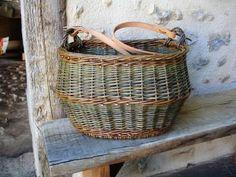François Desplanches artisan vannier   » photos 2010-2014 Willow Weaving, Basket Weaving, Basket Willow, French Baskets, Market Baskets, Basket Bag, Wicker Baskets, Deco, Photos