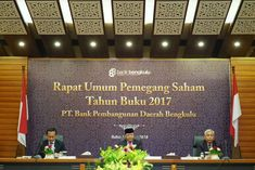 Bank Bengkulu gelar RUPS tahun buku 2017.