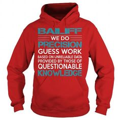 AWESOME TEE FOR Bailiff T Shirts, Hoodies. Check price ==► https://www.sunfrog.com/LifeStyle/AWESOME-TEE-FOR-Bailiff-98492873-Red-Hoodie.html?41382