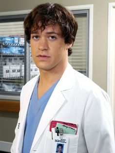 Dr. George O'Malley such a cutie :) breaks my hear TR Knight is gay