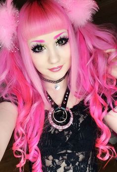 i love the pink