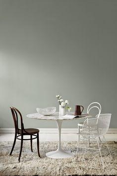 Cette semaine, le fabricant de peintures norvégien Jotun a lancé une nouvelle collection de peintures dans cette palette de couleurs grisées...