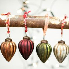 Itari Fair Trade Glass Baubles by Nkuku | Eco Gifts