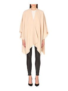 REISS Tally knitted poncho