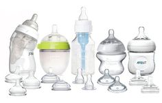 First Foods Baby Bottle Starter Variety Pack (Comotomo, Playtex Nurser, Tommee…