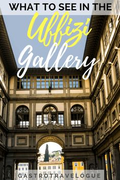 What too see at the Uffizi Gallery-Guide to the Uffizi Gallery Florence - Uffizi Gallery | Florence | Art | Museum | Italy | Michelangelo | Caravaggio | Leonardo da Vinci | Raphael | Botticelli