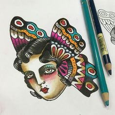 Butterfy#tattoo#flash