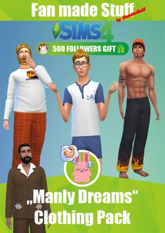 "[Standardheld] • ""Manly Dreams"" Clothing Pack * ~ * ~ * 500..."