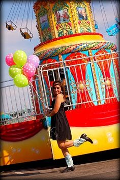 State fair senior portraits.