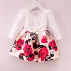 Baby girl princess dress.