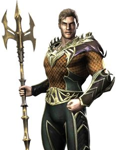 Aquaman - Pictures & Characters Art - Injustice: Gods Among Us