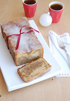 Marbled gingerbread almond loaf cake / Bolo mármore de gingerbread e amêndoa by Patricia Scarpin, via Flickr