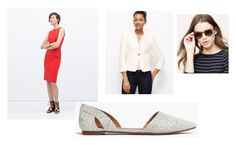 look 2 by stylebyali on Polyvore featuring Zara, Ann Taylor and Madewell