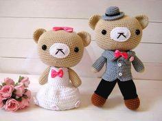Wedding doll wedding gift wedding car decoration lovers filmsize doll yarn crochet doll wedding dress(China (Mainland))