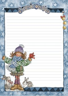 Printable Christmas notes