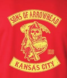 Sons of Arrowhead Kansas City Chiefs T-Shirt Red
