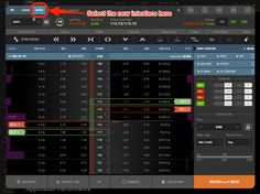stock trading interface - Google Search
