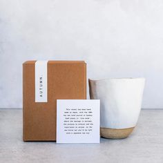 Packaging @theproviderstore x @autumn.studio found by @hellohellostudio