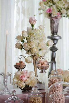 Hanging Macarons on Dessert Tablescape   Mischief Maker Cakes Blog #desserttablescapes #bemischievous